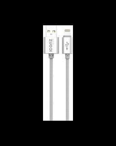 Iconz XBL05S Bazix Aluminum Lightning Cable Silver