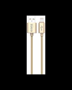 Iconz XBL05G Bazix Aluminum Lightning Cable Gold