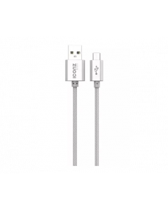 Iconz XBR05S Braided Aluminum Micro USB Cable Silver