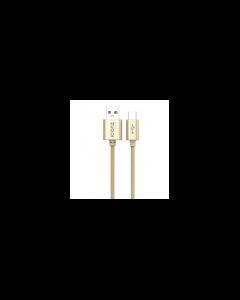Iconz XBC05G Braided Aluminum Type-C Cable Gold