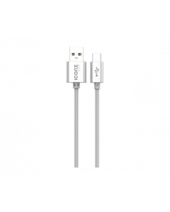 Iconz XBC05S Braided Aluminum Type-C Cable Silver
