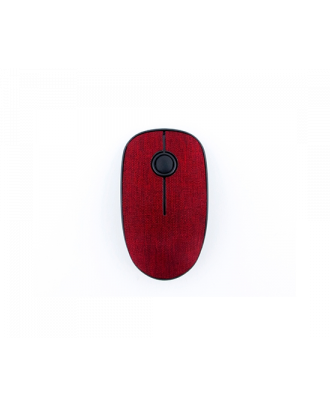 Iconz IMN-WM04R wireless silent fabric mouse Red
