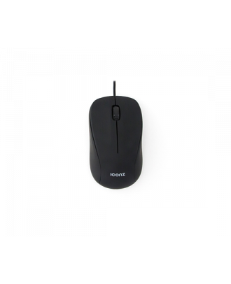Iconz IMN-M01K Mouse Wired Optical Black