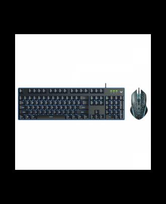 Rapoo V100S Keyboard and Mouse Optical Gaming Adjustable Backlit