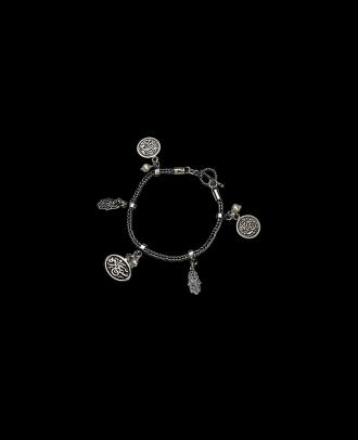 انسيال مصنوع من الفضة واللولى- 3463