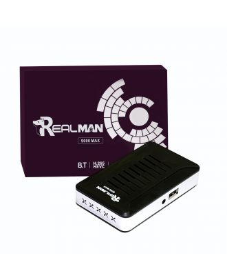 REALMAN 9000MAX ريموت بلوتوث واي فاى داخلي