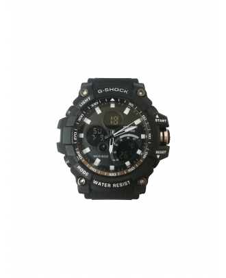 ساعة جى- شوك ضد الماء - اسود (Dw - 1523NB)
