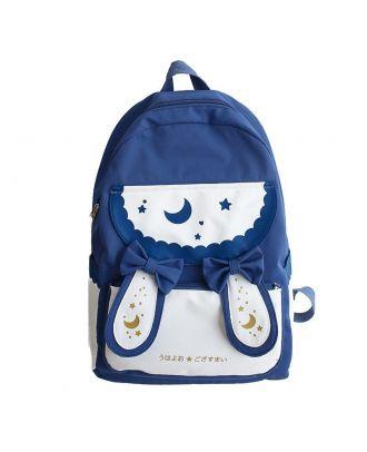 Backpack For Women Waterproof Laptop School Backpack Star - Blue