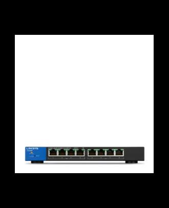Linksys 8 Port Business Smart Gigabit POE Switch LGS308P