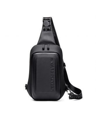 Fashion Crossbody Bag Shoulder Messenger Travel Pouch Waterproof From Arctic Hunter XB000126 - Black