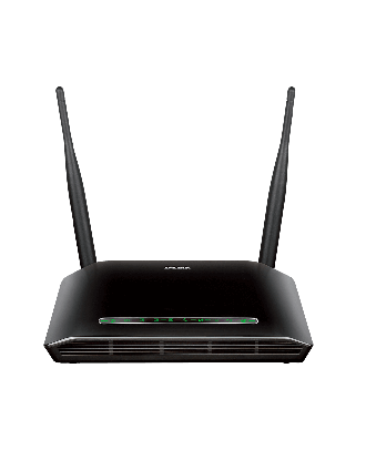 D-Link ADSL2 Router 4 Ports Wireless N 300 + USB / DSL-2750U