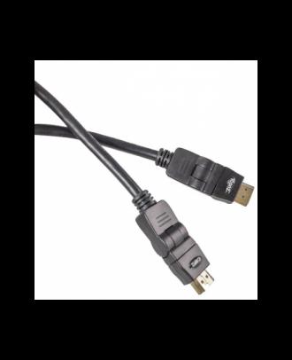 Iconz IMN-HC42K HDMI Cable 1.8m Black 360 degrees