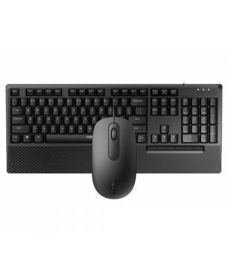 Rapoo NX2000 Compo Wired Optical Mouse Keyboard Black