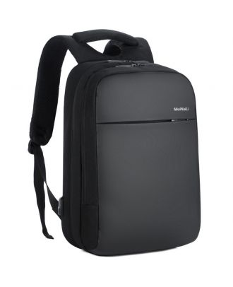 MEINAILI 1802 - 15.6-Inch Laptop Backpack With Smart Usb Charge Port - Black
