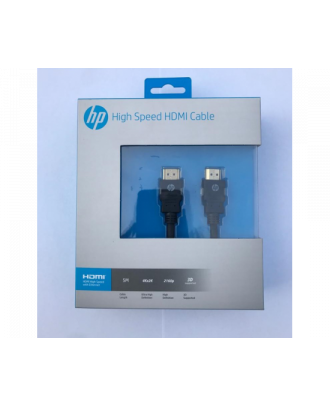 HP HDMI to HDMI Cable 5.0m High-speed 100 Mbps-durable construction- Gold Plated connector