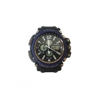 ساعة جى- شوك ضد الماء - ازرق (Dw - 1716)
