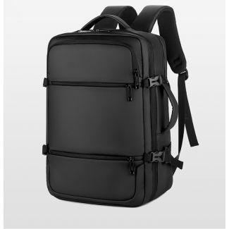 Meinaili 15.6 Inch Laptop Backpack Multifunctional Outdoor Backpack Schoolbag Waterproof - 2026 Black