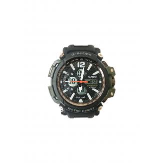 ساعة جى- شوك ضد الماء - اخضر (Dw - 1716)