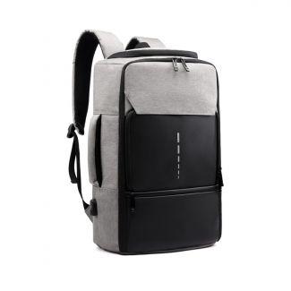 MEINAILI 026 Large Capacity USB Charging Multifunction Backpack - Gray