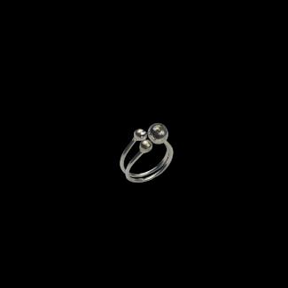 خاتم مصنوع من الفضة - K1078