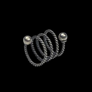 خاتم مصنوع من الفضة - K959
