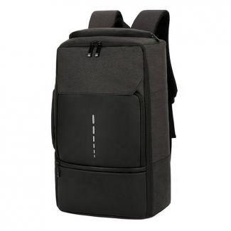 MEINAILI 026 Large Capacity USB Charging Multifunction Backpack - Black