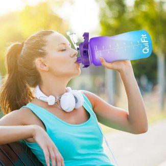 زجاجة المياه الرقمية